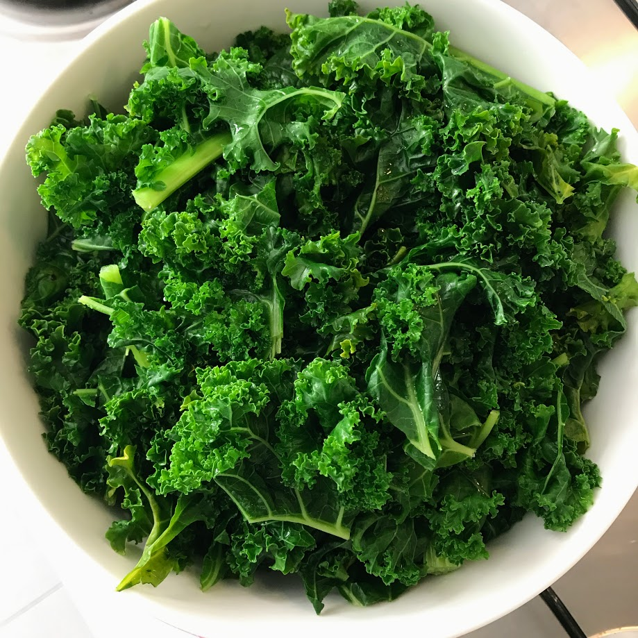 Kale raw or cooked