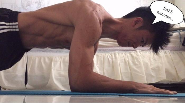 5 min routine
